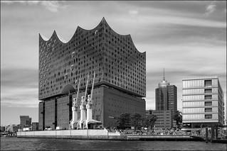 Elbphilharmonie, Hamburg, bw