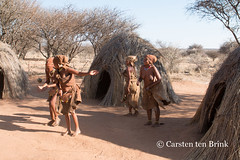 The San women demonstrate a ball game (10b travelling) Tags: 10btravelling 2016 africa african afrika afrique bushmen carstentenbrink conservancy iptcbasic kalahari khoisan naankuse namibia namibian namibie namibië nyaenyae people places san southwestafrica southwest suidwesafrika südwestafrika windhoek ball clothing costume dance ethnic firstnation game group huntergatherer indigenous play sanctuary south southern southwestern tenbrink traditional tribe wildlife women