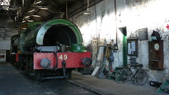 Marley Hill Shed (Jeff Mckever) Tags: tanfield railway marley hill shed legends industry robert stephenson hawthorne ncb no 49 17th june 2017 steam loco