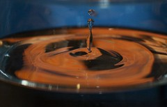Splash (ertolima) Tags: dripsdropsandsplashes macromondays hmm drip drop splash water glass ripple