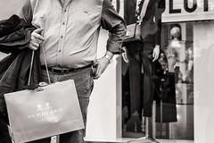 shopping (Gerard Koopen) Tags: italy rome city capital bw blackandwhite blackandwhiteonly candid straat street straatfotografie streetphotography fashion fashionstyle shopping fashionshop burberry fujifilm fuji xpro2 2017 gerardkoopen