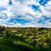 Week 20 - Technical: Sky Overlay - Green Hills #dogwood2017week20