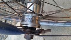 Vintage 1937 CCM HUB (bottledale999) Tags: ccm bike bicycle vintage cranks canada canadian hub old cool 1937