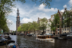 Westerkerk (Maximilian Kauß) Tags: 2017 the netherlands netherland city cityscape cityview stadt grachtenviertel grachten gracht west amsterdam europa europe holland kirche church wasser water boot boat sommer summer canon eos 650d raw stm efs18135mm lightroom allesfürdasfoto fotogeilo schönwetterfotograf sky dslr urlaub kurzurlaub travel traveling holiday reise haus häuser house houses tower turm noordholland niederlande westerkerk