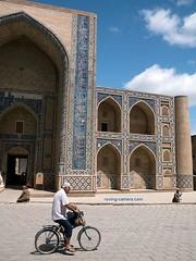 Street Scene #5 in Bukhara, Uzbekistan (deemixx) Tags: uzbekistan bukhara silkroad streetphotography