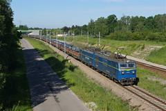 ET42-014 Churszobrod (Gridboy56) Tags: steel coils trains train railways railroad railfreight locomotive locomotives poland pkp pkpcargo europe electric et42 et42014 churszobrod wagons freight