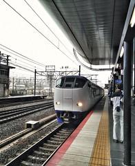 HARUKA (pengpeng-chen) Tags: haruka kyotosta travel train jr