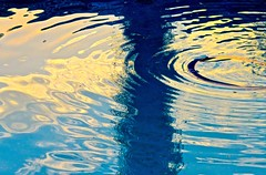 Dawn's Ripples And Reflections (Chic Bee) Tags: ripples reflections pool weather temperature tucson arizona cool water clearcoolwater