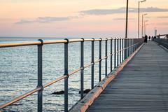 Repetition (.Stephen..Brennan.) Tags: fa77 jetty moonta pentaxk3 southaustralia sunset moontabay australia