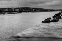 Shoes on the Danube Bank -1 (Alex&HisNikon) Tags: hungary monument bw nikond750 budapest wwii holocaust