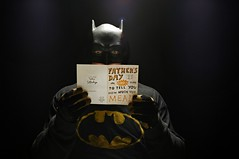The Caped Crusader Suspected a Trap (Studio d'Xavier) Tags: werehere dadsday fathersday batman capedcrusader 365 june182017 169365 strobist