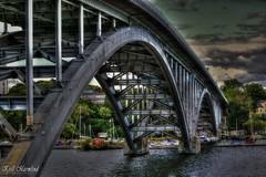 Västerbron (Kjell Marmlind) Tags: västerbron bridge stockholm sweden hdr