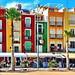 Colourful Beachfront in Villajoyosa