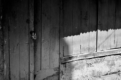 Locked out! (Das#) Tags: bnw blackandwhite monochrome bw sunlight sunrays shadow nikon 50mm 50mm18 minimalism