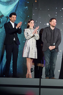 Rogue One: A Star Wars Story Japan Premiere Red Carpet: Diego Luna, Felicity Jones & Gareth Edwards