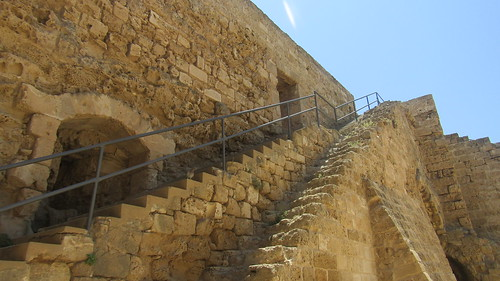 Stairs at Othello Castle, Famagusta