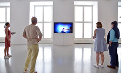 perception, interpretation (joachim.d.) Tags: documenta14 documenta kassel europa europe athen kunst besucher visitors interpretation wahrnehmung