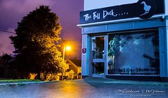 The Full Duck Café, Renmore (nathanwynnephotography) Tags: love likes fullduckcafé drink eat goodfood canon galwaycity night exterior photography eating eatery grub food ireland galway renmore nathanwynne restaurant café