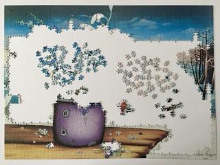 Winter Bouquet - progress #1