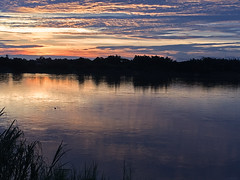 Sunset over Mekong in Phon Phisai 2017-6-29 5 (SierraSunrise) Tags: mekong mekongriver nongkhai phonphisai reflections rivers skies sunset thailand water