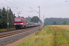 "243 650 ""DeltaRail"" mit BLG Autozug - 30.06.2017 - Rohrsen (D) (Frederik L.) Tags: db bahn zug eisenbahn lok lokomotive baureihe 143 delta rail privatbahn blg autozug güterzug bahnhof nienburg bremerhaven"