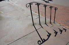 shadow (Hayashina) Tags: usa boston staircase railing shadow hss