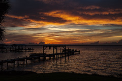 Sunrise Sky (in Explore) (mimsjodi) Tags: sunrise indianriverlagoon titusvillefl river water sky clouds explore