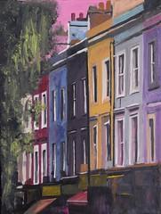 View of Notting Hill (Spicygreenginger) Tags: london nottinghill theartofandrewreidwildman art