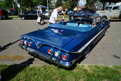 1961 Chevrolet Impala Convertible (Crown Star Images) Tags: automobile auto automobiles automotive car cars carshow msrabacktothe50s msra msrasback 50s44thannualcarshow 2017 convertible droptop ragtop