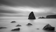 (annemcgr) Tags: water rocks clouds waterford ireland longexposure le monochrome blackwhite fineartphotography annemcgrath