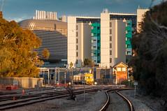 Railway Station (AL Images) Tags: train buildings railwaystation sunset tracks southaustralia