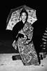 Untitled (okirob photo) Tags: akajima bingata japan okinawa akaisland blackandwhite kimono night umbrella danceokinawan robertmallon