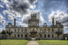 Kirby Hall 9 (Darwinsgift) Tags: kirby hall northamptonshire hdr photomatix english heritage elizabethan stately house home nikkor 19mm f4 pce nikon d810 architecture history