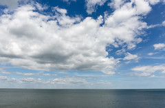 Cloud's illusion (PhredKH) Tags: clouds fluffyclouds bluesky bluesea blue horizon canon canon5dmkiii canoneos canonphotography scenic scenicview seaside seascape seaview serene water minimalist nature naturephotography photosbyphredkh outdoorphotography outdoors whitstable uk unitedkingdom 2470mm phredkh fredkh