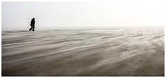 a walk (juhwie.foto - PROJECT: LEIDENSCHAFT-LICH-T) Tags: walk dust sand beach spo st peterording pano panoramic landscape nature northsea pentax pentaxart ricohimaging