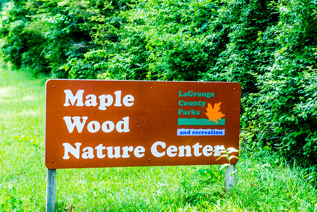 Maple Wood Nature Center - LaGrange County Nature Preserve - July 3, 2017