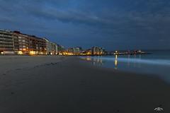 Hora Azul (Emilio Rico Uhia) Tags: sanxenxo playas horaazul anochecer riasbaixas pontevedra galicia españa emilioricouhia panoramica