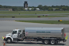 Fuel Truck -- Albany International Airport (ALB) Latham (NY) July 2017 (Ron Cogswell) Tags: roncogswell fueltruckalbanyinternationalairportalblathamny jetfueltruck alb albanyinternationalairportalblathamny