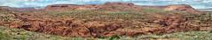 Paria Canyon from a remote spot (Chief Bwana) Tags: az arizona pariaplateau vermilioncliffs pariariver pariacanyon canyon psa104 chiefbwana panorama 500views