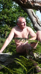 Forest of Fontainebleau -  Forêt de Fontainebleau (♥Dany_de_Paris♥) Tags: fkk nu nude naturist male homme poilu bear senior peludo hairy naked sef selfie