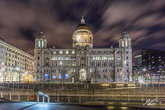 Was the verdict worth the trial? (Tim van Zundert) Tags: hdr highdynamicrange portofliverpool merseydocks dockoffice urban waterfront pierhead liverpool merseyside northwestengland building architecture city night evening longexposure cloud sony a7r voigtlander 21mm ultron
