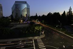 Light Trails in Sacramento (dcnelson1898) Tags: sacramento sacramentocounty sacramentorivercats oldtown california longexposure nightphotography night urban city fireworks nikond810 towerbridge centralvalley northerncalifornia