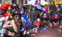 Ladies on guard (Chi Ken Yeung) Tags: prideparade toronto nikond750 nikon28300mm