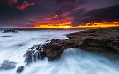 Burnout (marcolemos71) Tags: seascape atlanticocean waves rocks flow dynamic hightide sky clouds sunset portuguesecoast longexposure leefilters caboraso cascais marcolemos