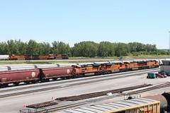 BNSF 9231 (CC 8039) Tags: bnsf trains sd70ace es44ac ac44cw galesburg illinois