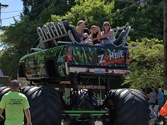 The Zombie Tracker (swong95765) Tags: ride high elevated truck modified zombie parade jackedup wheels