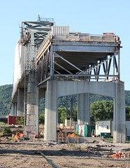 (MN transfer) Tags: winona minnesota bridge interstatebridge repair renovation project engineering civilengineering highway river mississippiriver crossing span road roadway buffalocounty wisconsin minnesotahighway43 wisconsinhighway54