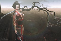 Geisha (Cris Summer) Tags: tattoo isuka girl japan dollz dead shi sexy woman sl cris summer