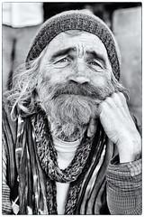 Street Portrait (Roswitz) Tags: beard man street