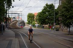 between the lines II (grapfapan) Tags: tracks tramway street erfurt germany thüringen